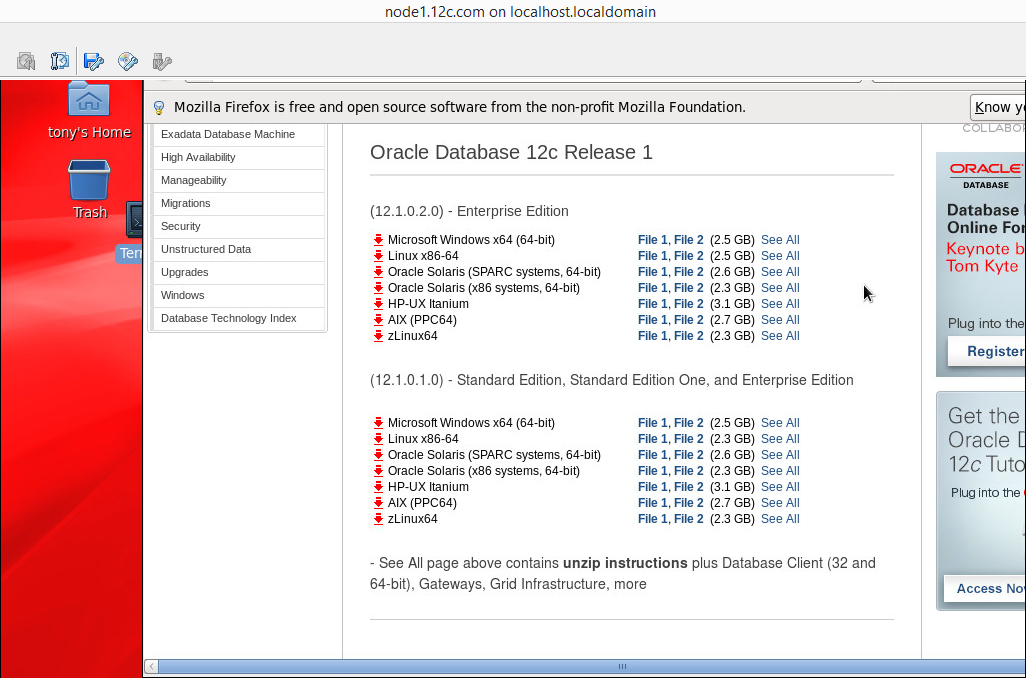 12c RAC on Linux 6 6 – Tony Emoghene, OCP, PMP